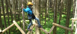 Kletterpark in Gerlos