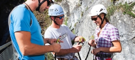 Klettersteig in der Zillertal Arena