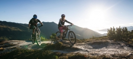 Mountainbiken in der Zillertal Arena