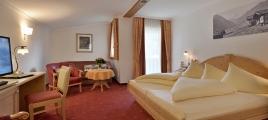 Schlafzimmer Studio I Hotel Glockenstuhl in Gerlos