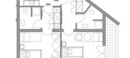 Skizze Studio II Hotel Glockenstuhl in Gerlos