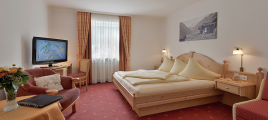 Schlafzimmer Studio II Hotel Glockenstuhl in Gerlos
