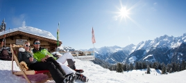 Winter in der Zillertal Arena