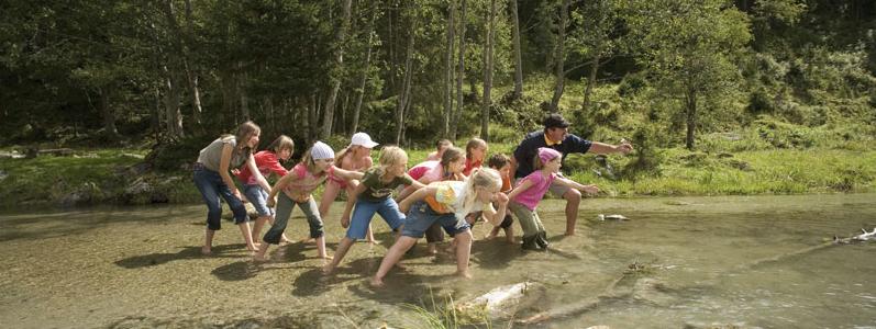 Kinderprogramm in Gerlos im Zillertal