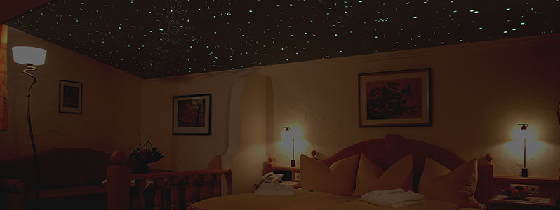 Sternenhimmel Hotel Glockenstuhl in Gerlos