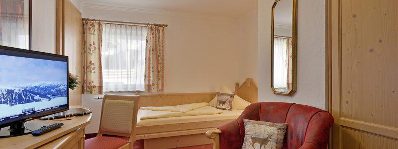 Einzelzimmer Hotel Glockenstuhl in Gerlos