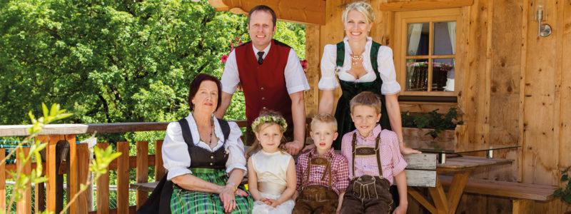 Familie Eberl Glockenstuhl Hotel in Gerlos