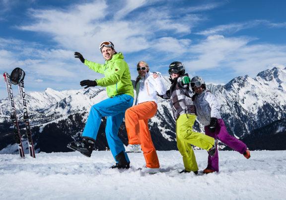 Skifahren in der Zillertal Arena