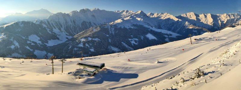 Skigebiet Zillertal Arena Pulverschnee Wochen