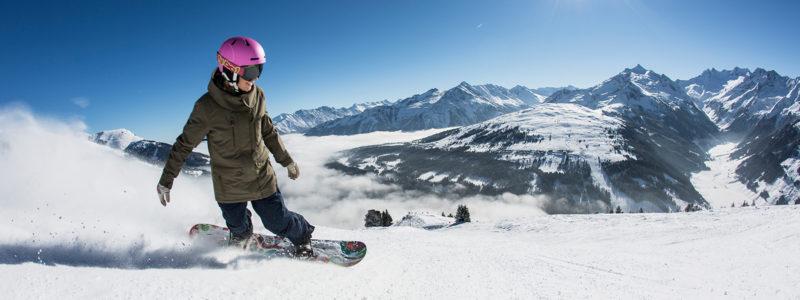 Snowboarden in der Zillertal Arena Ski und Verwöhntage