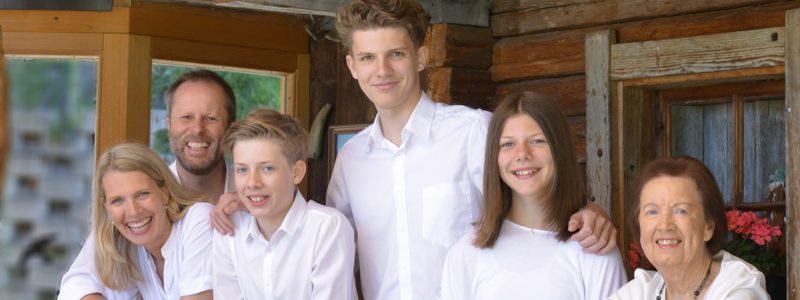 Familie Eberl vom Hotel Glockenstuhl in Gerlos